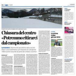 COMUNICATO STAMPA SITUAZIONE CAMPO E SEDE DI CASTIGLIONE